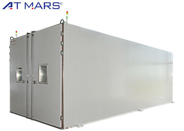 China Drive In Walk In Environmental Test Chamber For Automotive Testing 16.28m³ supplier